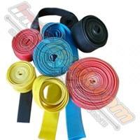 Shrink-Well Heatshrink Cable Low Voltage size 14 (Lebar  Pipih 24mm) Selongsong Kabel 1