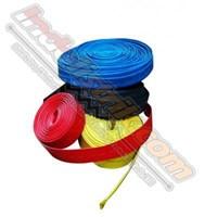 Shrink-Well Heatshrink Cable Low Voltage size 15 (Lebar Pipih 24mm)  Selongsong Kabel  1