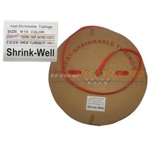 Dari Shrink-Well Heatshrink Cable Low Voltage size 18 (Lebar Pipih 30mm) Selongsong Kabel 0