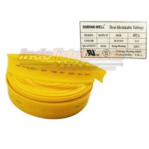 Dari Shrink-Well Heatshrink Cable Low Voltage size 25 (Lebar Pipih 40mm) Selongsong Kabel 2