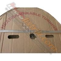 Shrink-Well Heatshrink Cable Low Voltage size 10  Transparant (Lebar Pipih 17mm) Selongsong Kabel 1