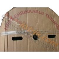 Shrink-Well Heatshrink Cable Low Voltage size 12 Transparant  (Lebar Pipih 20 mm) Selongsong Kabel 1