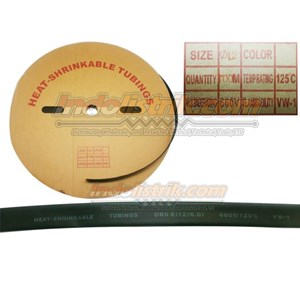 Shrink-Well Heatshrink Cable Low Voltage size 12 (Lebar Pipih 20mm) Selongsong Kabel