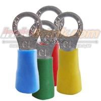 CL Kabel Skun Ring Isolasi RF 1.25 - 4 Merah Insulated Kabel Lug 1