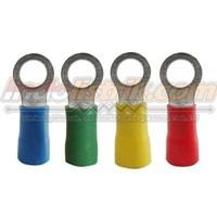 CL Kabel Skun Ring Isolasi RF 2 - 4 Merah Insulated Kabel Lug 1