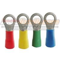 CL Kabel Skun Ring Isolasi RF 2 - 5 Merah Insulated Kabel Lug 1