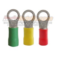 CL Kabel Skun Ring Isolasi RF 3.5 - 8 Merah Insulated Kabel Lug 1