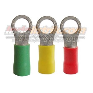 CL Kabel Skun Ring Isolasi RF 3.5 - 8 Merah Insulated Kabel Lug