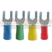 CL Kabel Skun Garpu Isolasi YF 5.5 - 5 Merah Insulated Kabel Lug 1