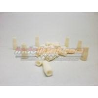 Distributor Nintoku Vinyl End Cap V2 Merah Pelindung Kabel Lug 3