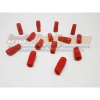 Nintoku Vinyl End Cap V5.5 Merah Pelindung Kabel Lug 1
