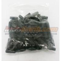 Beli Nintoku Vinyl End Cap V5.5 Merah Pelindung Kabel Lug 4