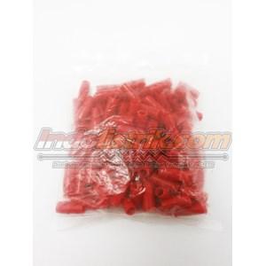 Dari Nintoku Vinyl End Cap V5.5 Merah Pelindung Kabel Lug 8