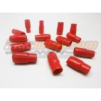 Nintoku Vinyl End Cap V80 Merah Pelindung Kabel Lug 1