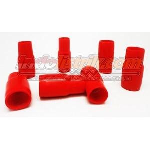 Dari Nintoku Vinyl End Cap V125 Merah Pelindung Kabel Lug 0