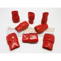 Nintoku Vinyl End Cap V325 Merah Pelindung Kabel Lug 1
