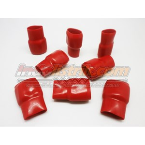 Dari Nintoku Vinyl End Cap V325 Merah Pelindung Kabel Lug 0