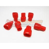 Distributor Nintoku Vinyl End Cap V250 Merah Pelindung Kabel Lug 3