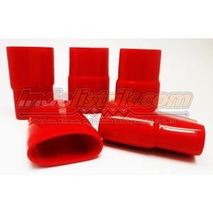 Nintoku Vinyl End Cap V500 Merah Pelindung Kabel Lug