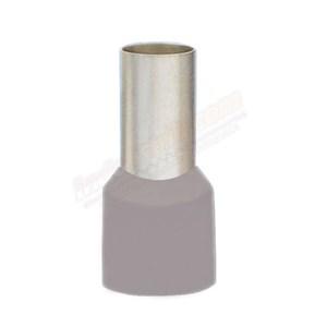 CL Kabel Skun Ferrules Isolasi EN 2.50 Abu-abu Kabel Lug