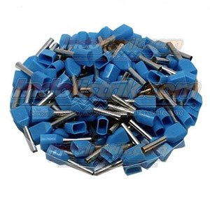 From CL Twin End Insulated Ferrules 0.75 mm Blue Cable Lug 0