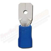 CL Kabel Skun Male Isolasi MDV 2 - 5A Biru Kabel Lug