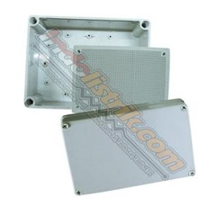 Tibox ABS plastic Box 80x110x70mm Abu-abu + Base Plate Box Panel