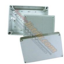 Tibox ABS Plastic Box 150x250x100 Abu-abu + Base Plate Box Panel
