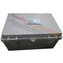 Tibox ABS Plastic Box 190x290x140 Abu-abu + Base Plate Box Panel