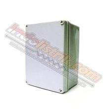 Durabox ABS Plastic Box 150x200x130mm Abu-abu + Base Plate Box Panel
