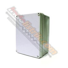 Durabox ABS Plastic Box 150x250x130mm Abu-abu + Base Plate Box Panel