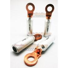 CL Kabel Skun Bimetal AL-CU DTL-2 95mm Lubang Baut M13 Kabel Lug