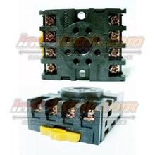 TAB Socket Relay PF083A Relay dan Kontaktor Listrik
