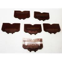 TAB End Plate terminal Block TR100 Coklat Atau Merah Aksesoris Listrik