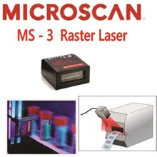 Microscan Ms-3 Fixed Mount Barcode Scanner