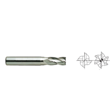 HSS Cobalt 8% End Mills E2421 – 4&6 FLUTE SHORT