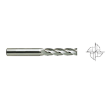HSS Cobalt 8% End Mills E2659 – 4F LONG LENGTH
