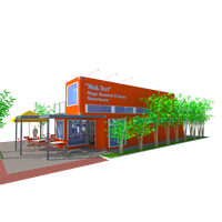 Resto & Cafe Container
