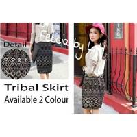 Jual Tribal Short Skirt Bhn Xtrada Streach (High Quality) Fit M+