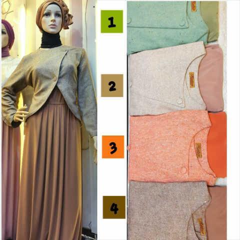 Jual Baju Muslim 3 Harga Murah Jakarta Oleh Toko Ratu Fashion