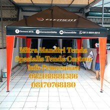 Tenda Piramid Promo Full Print