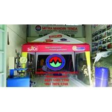 Tenda Cafe polos promosi
