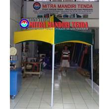 Tenda lipat  murah (new polos)