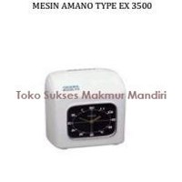 Mesin Absen Amano Type EX 3500