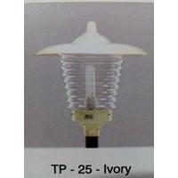 Jual Lampu taman TE - 25 - Ivory