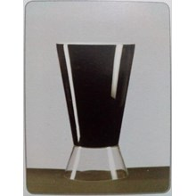 Glass Vase Goliat DC Dual Black