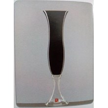 Glass Vase Rosa - DC Dual Black