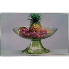 Glass Vase Delima - DC Sprite Green Gloss
