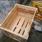 Small Wooden Crate 1
