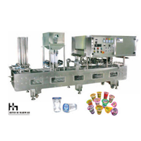 Filling Cup Sealer Machine